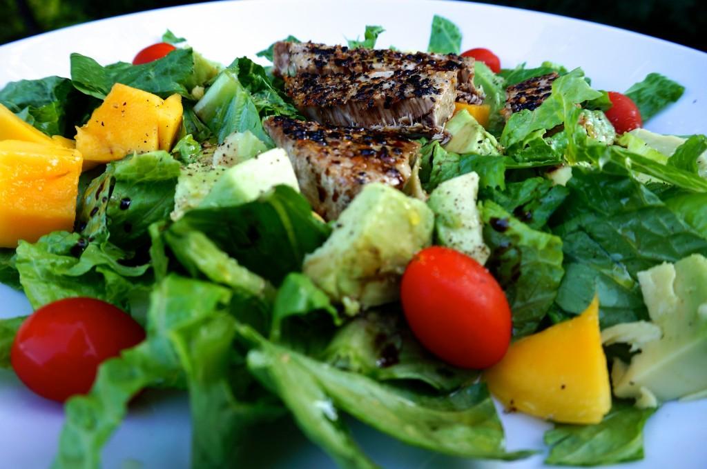 Easy Tuna Mango Avocado Salad