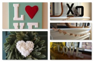 Valentine's Decor Collage
